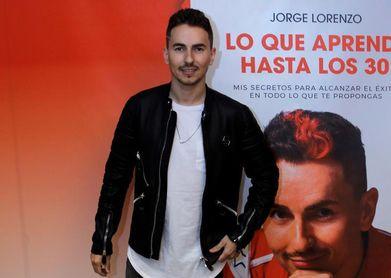 """Lorenzo: """"Estoy bastante satisfecho porque es un libro que he escrito yo"""""""