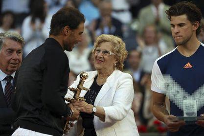 El equipo de Carmena quiere que el Open de Tenis lo renegocie el próximo gobierno