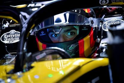 Sainz espera remontar en carrera aunque no está contento al 100% con su coche