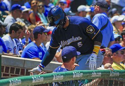 1-5. Villar encabeza la lluvia de jonrones y los Cerveceros frenan a los Mets