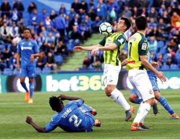 1-0. Damián marca el gol de su carrera y saca al Getafe de la intrascendencia