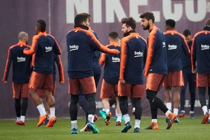 El Barça empieza a preparar su vista a Balaídos