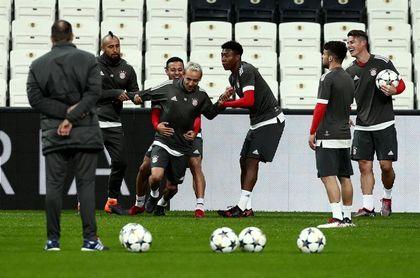 Vidal abandona el entrenamiento del Bayern por problemas en su rodilla derecha