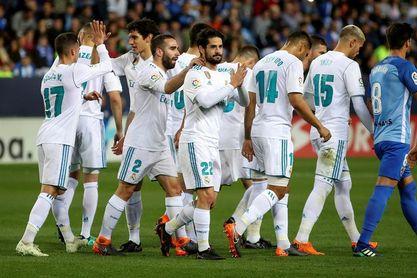 1-2. El Real Madrid recupera el tercer puesto en la noche de Isco