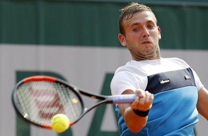 Evans, suspendido por drogas, volverá a competir en el challenger de Glasgow