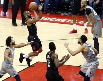 Triunfos ajustados de los Rockets, los Celtics y los Thunder