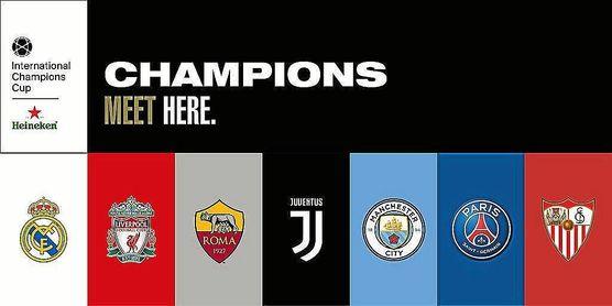 Benfica, Chelsea e Inter, rivales del Sevilla en la International Champions Cup