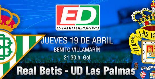 Real Betis-Las Palmas: Sigue soñando