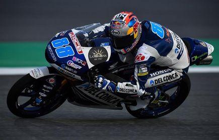 Jorge Martín cierra la primera jornada de Moto3 como el más rápido en Austin