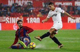 El Sevilla sólo ha perdido en 4 de sus 14 visitas al Levante