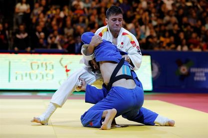 Fran Garrigós se queda a las puertas de las medallas