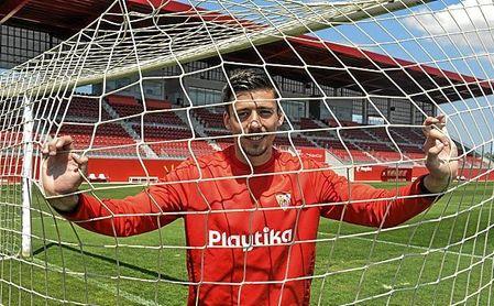 Lenglet, posando para ESTADIO Deportivo.