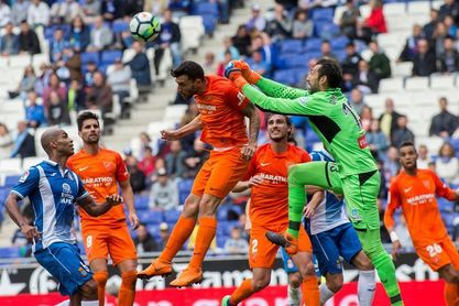 4-1. El Espanyol cierra el curso en casa con un festín ante el Málaga
