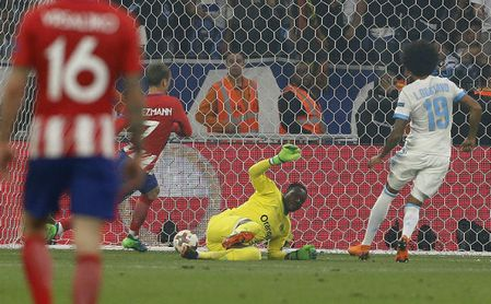 0-3: Griezmann agranda al Atlético, campeón de la Europa League