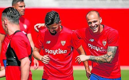 Sandro, por el que habría que negociar, quiere seguir en el Sevilla FC.