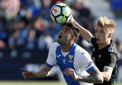 Diego Rico (Leganés), suspendido con tres encuentros