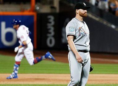 1-2. Los Marlins se imponen a los Mets en Nueva York