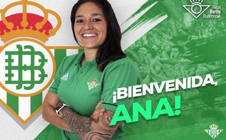 Ana Romero ´Willy´, primer fichaje del Betis Féminas para la 2018/2019.