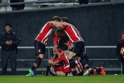 3-1. Estudiantes logró una agónica clasificación tras vencer a Nacional