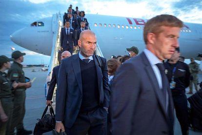 El Real Madrid ya descansa en su hotel de concentración de Kiev