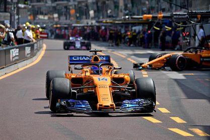 Alonso y Sainz se clasifican entre los diez primeros en Mónaco