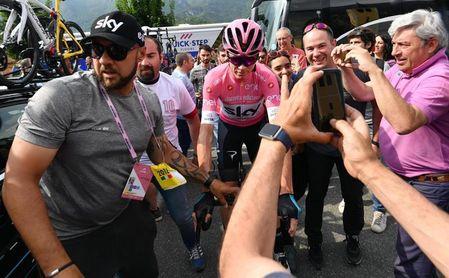 """Froome: """"Este Giro es brutal"""""""