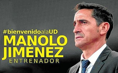 Jiménez estará un segundo año en Las Palmas si asciende a Primera.