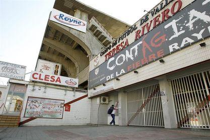 Robo en las taquillas del estadio de Vallecas