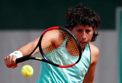 Carla Suárez pasa la primera ronda por la vía rápida ante la croata Konjuh