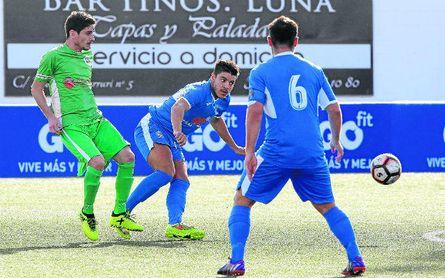 Lance del Camas - La Barrera disputado esta temporada en el Grupo I de Segunda Andaluza.
