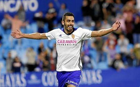 El delantero gallego suma 23 goles con el Real Zaragoza.