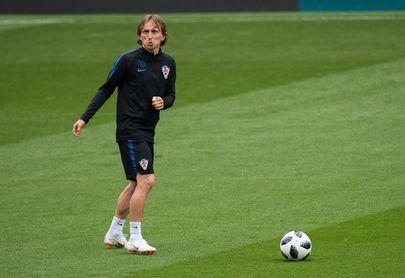 Modric, galardonado con el Trofeo de la Federación Croata al mejor futbolista