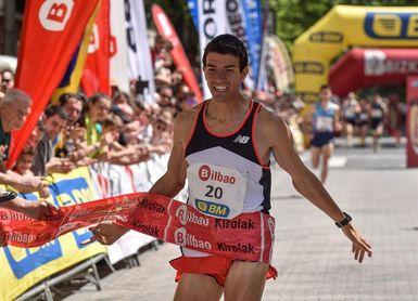 Mechaal abandonó en la carrera de 5.000 metros
