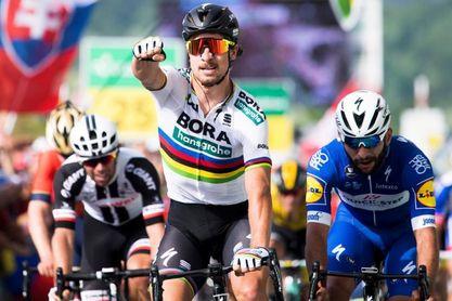Sagan se impone en la segunda etapa y Kung conserva el amarillo