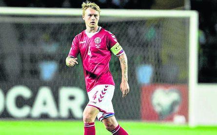 Kjaer es un fijo con Dinamarca, que debutará en Rusia el sábado ante Perú.