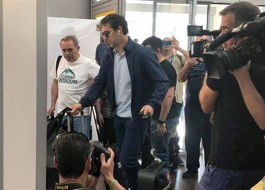 Lopetegui llega a España para su presentación como entrenador del Real Madrid