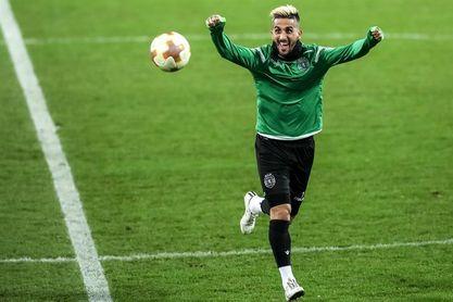 Rúben Ribeiro, séptimo jugador que rescinde contrato con Sporting de Portugal