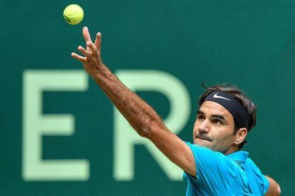 Federer - Kudla y Bautista - Coric , semifinales de Halle