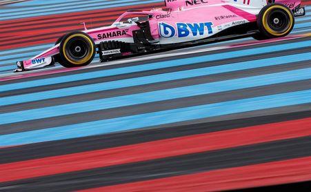 Multa de 15.000 euros a Force India por la rueda perdida de Sergio Pérez