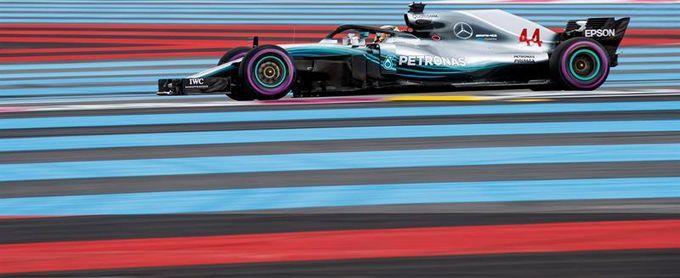 """Hamilton logra en Paul Ricard su tercera """"pole"""" del año"""