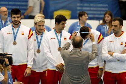 España volvió con fuerza a un podio de medallas que perdió en Mersin 2013