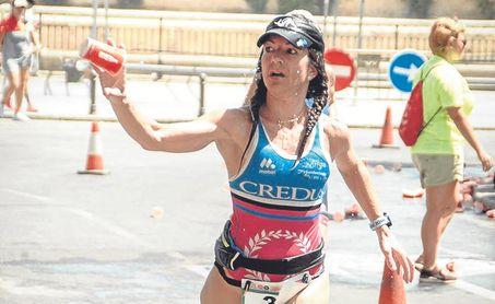 Imagen de una de las atletas de la pasada edición.