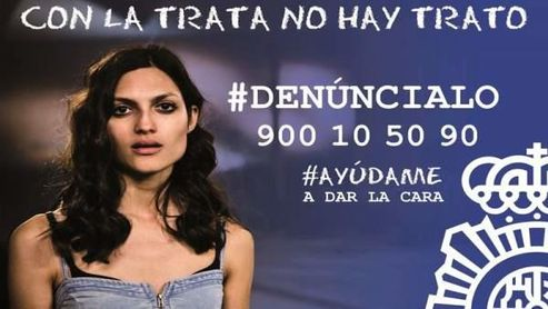 Campaña del Ministerio del Interior contra la trata de mujeres.