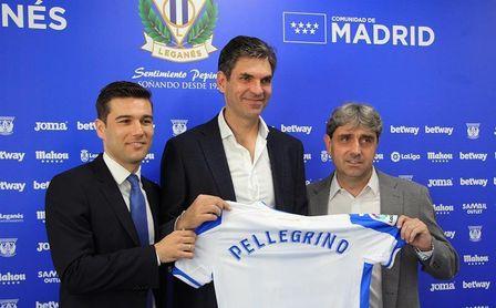 Pellegrino llega al Leganés sin ganas de ponerle límites al equipo
