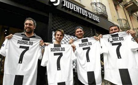 Cristiano ha logrado unir a todos los futboleros italianos bajo la misma bandera