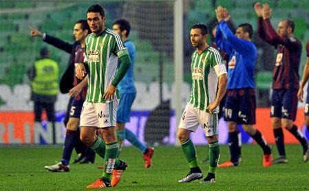 La dupla Jorge Molina y Rubén Castro es una de las más prolíficas que ha pasado por el Real Betis.