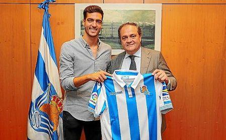 Mikel Merino, nuevo jugador de la Real Sociedad.