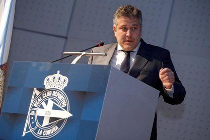 Tino Fernández, reelegido presidente del Deportivo hasta 2023