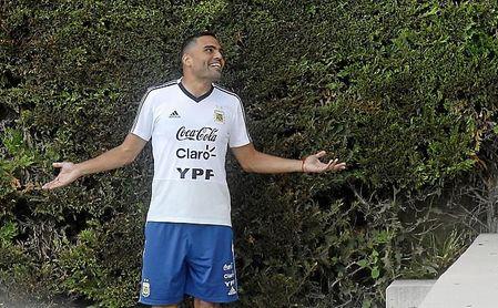 Mercado, con contrato hasta 2019, se fue con Argentina sin que el Sevilla le renovase.