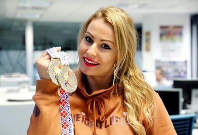 Lydia Valentín y Acorán Hernández, campeones de España